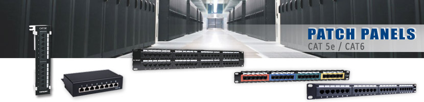 PATCH PANEL, CAT 5e/6, UTP, GOOBAY, INTELLINET,