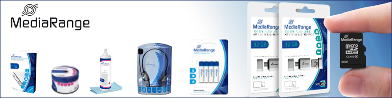 MEDIARANGE, FLASH DRIVES, MEMORY SD, MICRO SD, CD, DVD